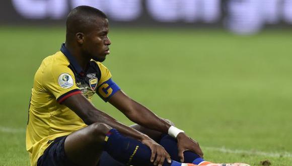 Enner Valencia fue titular en los tres partidos que estuvo disponible en Ecuador en las Eliminatorias. (Foto: AFP)