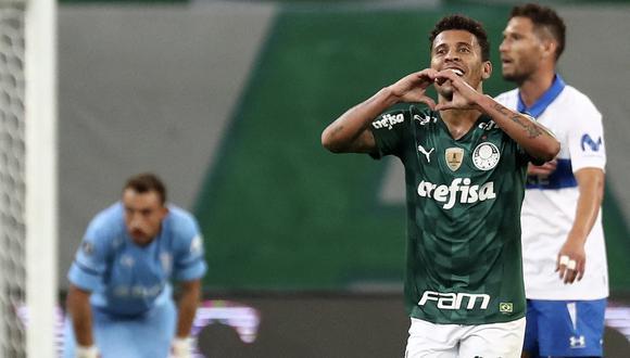 Universidad Católica no pudo con Palmeiras en Brasil y perdió por la mínima diferencia.
