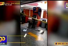 Destrozan cajero automático para robar S/ 100 mil en efectivo | VIDEO