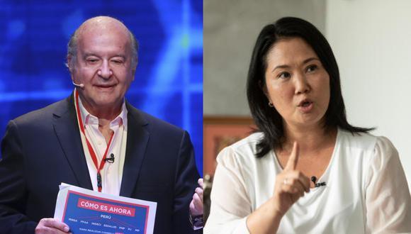 """Hernando de Soto señaló que la """"mano dura"""" del gobierno de Alberto Fujimori está con él y no con Keiko Fujimori."""