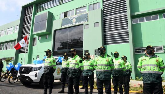 En la víspera también se inauguró la nueva comisaría La Noria, en beneficio de 100 mil habitantes de Trujillo. En su construcción se invirtieron S/ 3 millones. (Foto: Mininter)
