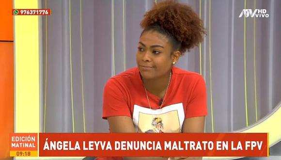 """Ángela Leyva en modo Karla Ortíz denuncia maltrato de la FPV: """"Nadie me dijo que ya no estaba en la selección""""   VIDEO"""