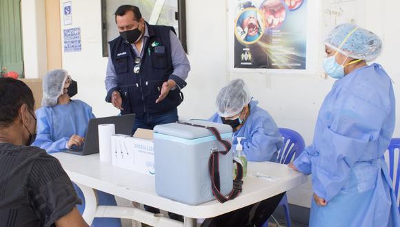 Las autoridades sanitarias de la región Huánuco ahora visitarán a los grupos objetivos en sus centros de estudio o trabajo. (Foto: Diresa Huánuco)