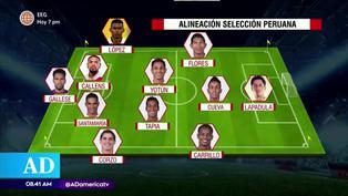 Selección peruana: El posible once para enfrentar a Brasil por Eliminatorias