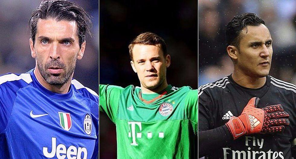 Buffon, Navas y Neuer finalistas al Mejor Arquero del año