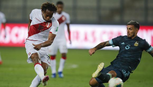André Carrillo tiene 3 goles en lo que va de las Eliminatorias rumbo a Qatar 2022. (Fuente: AFP)