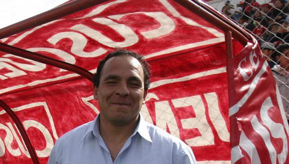 Freddy Ternero entrenador del Cienciano, Cusco 2003. (GEC Archivo)
