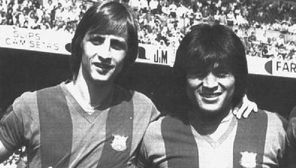 La historia de Johan Cruyff y Hugo Sotil en el Barcelona de los años 70