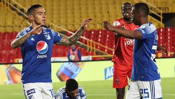 Millonarios vs. Deportivo Cali: chocan por la segunda fase de la Copa Sudamericana 2020. (Foto: AFP)