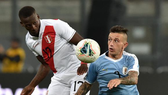 Perú - Uruguay se enfrentan en el Estadio Nacional de Lima por la fecha 9 de las Eliminatorias Qatar 2022 (Foto: AFP).