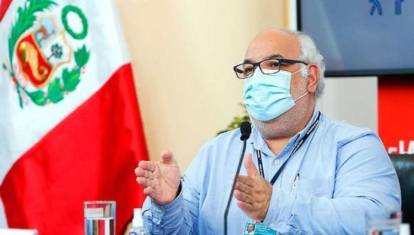 Luis Suárez Ognio defendió su decisión de recibir, en su momento, la vacuna experimental contra el COVID-19 del laboratorio Sinopharm. (GEC)