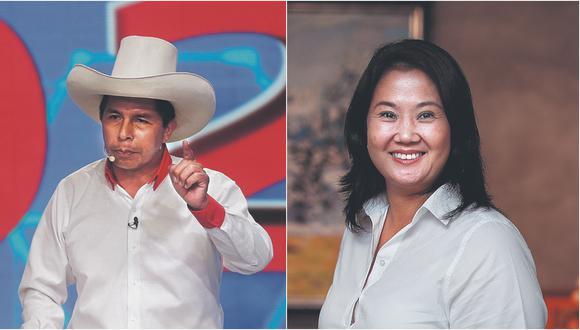 Este domingo se dio a conocer un nuevo sondeo de opinión sobre el respaldo popular que tienen los candidatos de Perú Libre y Fuerza Popular de cara a la segunda vuelta electoral.