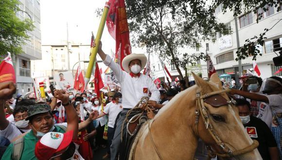 Pedro Castillo, un humilde profesor, puede ser el próximo presidente del Perú.  (Foto: Violeta Ayasta / GEC)