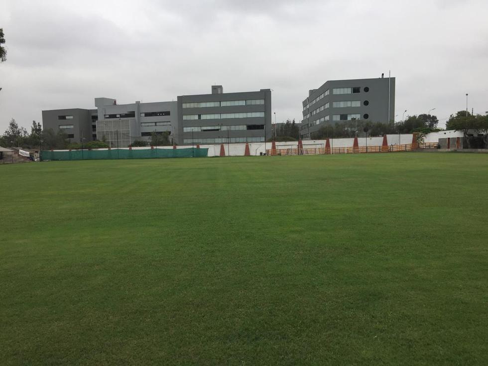 Así son las instalaciones del Club Unión Árabe Palestino donde Universitario realizará los entrenamientos. (Prensa U)