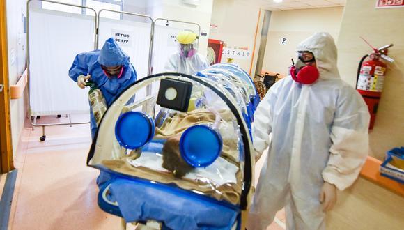 La menor se encuentra hospitalizada y bajo la observación de los médicos. (Imagen referencial/INSN de San Borja)