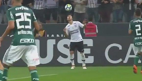 Romero y el lujo que calentó el clasíco Corinthians-Palmeiras [VIDEO]