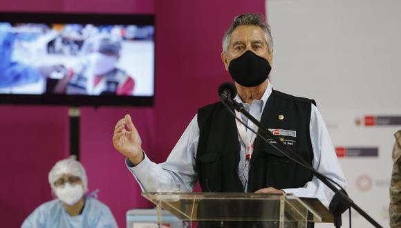 Presidente Francisco Sagasti destacó la participación del mecanismo Covax Facility en medio de la crisis mundial por la pandemia del COVID-19 y la escasez de vacunas. (Foto: Violeta Ayasta / @photo.gec)
