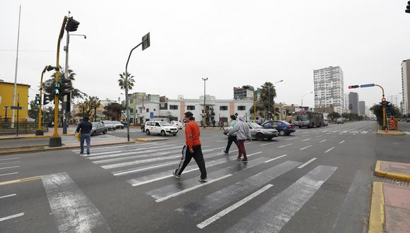 'Mapa del Calor' del Seguro Social de Salud (EsSalud) reveló las avenidas que reportan mayor número de contagios en Lima Metropolitana. (Foto: Diana Marcelo/GEC)