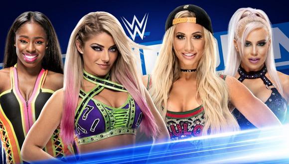 Vía Fox Sports 2: WWE SmackDown EN VIVO ONLINE desde San José
