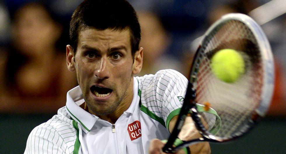 Djokovic venció al italiano Fognini y sigue firme en el Indian Wells