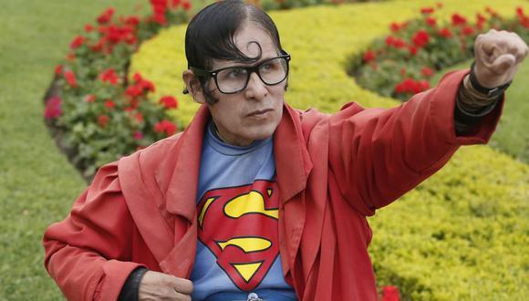 Esteban Abel Chávez Martínez se ganó el corazón del público por ser el 'Superman peruano'. (Foto: GEC)
