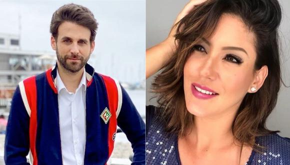 Rodrigo González y Tilsa Lozano (Foto: Instagram)