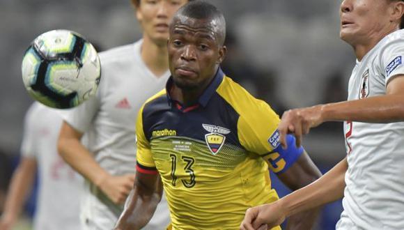 Enner Valencia y sus dos compañeros quedaron fuera de la concentración de su selección. (Foto: AFP)