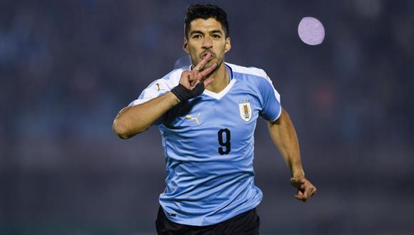 El delantero del Atlético de Madrid marcó de penal y abrió el marcador del Uruguay vs. Chile por las Eliminatorias.