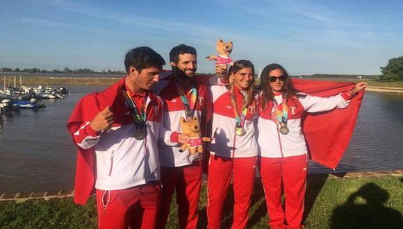 Perú ocupó el segundo puesto en los Juegos Suramericanos de Playa Rosario 2019
