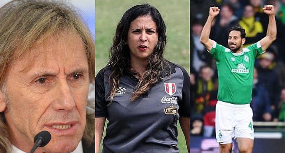 Selección peruana   Romina Antoniazzi se refiere al impasse entre Ricardo Gareca y Claudio Pizarro   FOTO