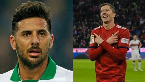 Claudio Pizarro a dos goles de perder el récord ante Lewandowski