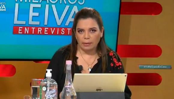 Milagros Leiva denunció que no tiene Twitter tras se hackeada (Foto: captura video)