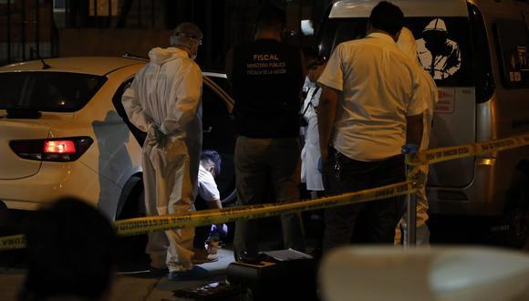 Guillermo Chunga, más conocido como 'Liendrita', fue asesinado a balazos por un sicario en moto cuando se encontraba con sus amigos.