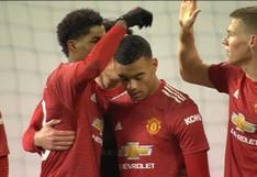 Manchester United vs. Liverpool: Mason Greenwood se encargó del 1-1 por FA Cup | VIDEO