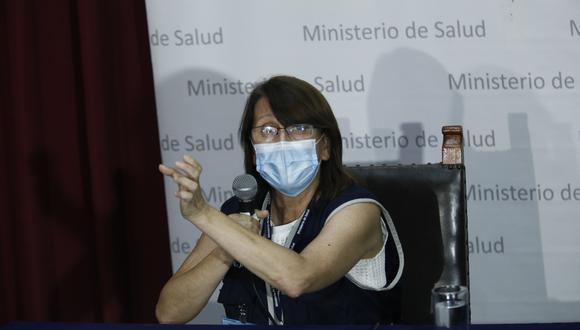 Ministra de Salud afirmó que su sector está vigilante respecto a la información sobre el avance del coronavirus en el país. (Foto: Andrés Paredes/GEC)