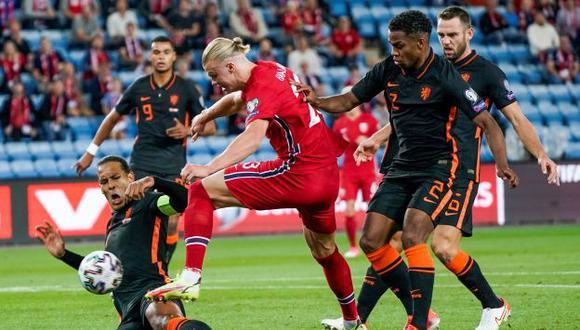 Erling Haaland contó que le fracturó el dedo a Virgil van Dijk. (Foto: EFE)