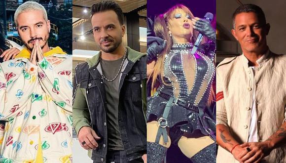 """J Balvin, Luis Fonsi, Alejandra Guzmán, Alejandro Sanz y otros artistas ofrecerán un """"Concierto en Casa"""" contra el coronavirus. (Foto: Instagram)"""