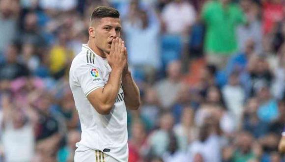 Luka Jovic llegó al Real Madrid a inicio de la temporadad 2018/19. (Foto: AFP)