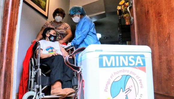 El Ministerio de Salud iniciará la vacunación contra el COVID-19 de otros grupos de personas con comorbilidad. (Foto: Andina)