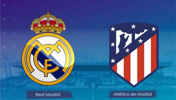 Sigue el partido entre Real Madrid y Atlético de Madrid por la fecha 13 de LaLiga.