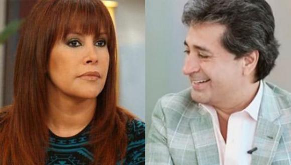 Según el programa de Peluchín, Magaly y su ex coincidieron en el aeropuerto. ¿Volvieron?
