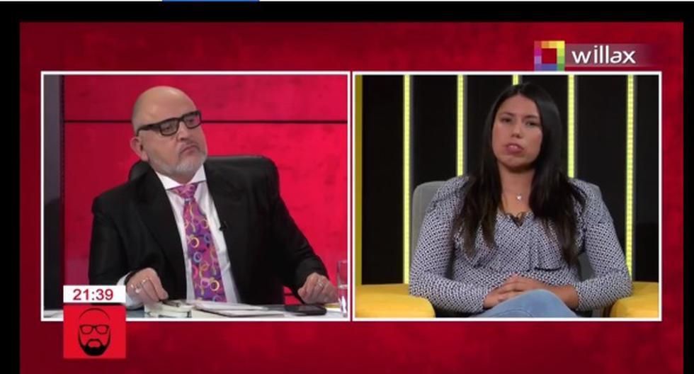 Elecciones: Beto Ortiz llamó verdulera e ignorante a virtual congresista de Perú Libre Zaira Arias