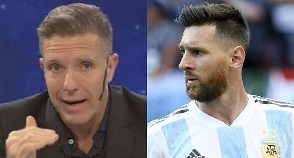 """Periodista argentino: """"Lionel Messi es mal compañero, es un tipo tóxico"""