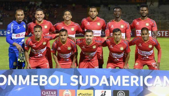 Sport Huancayo avanzó a la segunda ronda de la Copa Sudamericana 2020. (Foto: AFP)