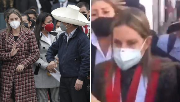 Maricarmen Alva, pasó un incómodo momento cuando llegó a la ciudad de Arequipa.