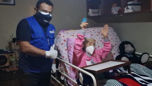 Olinda Espinoza de Vera podrá acceder a la vacuna contra el COVID-19 y beneficios otorgados por el Estado (Foto: Reniec)