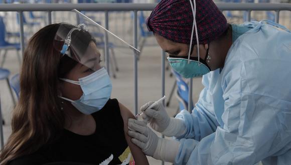 Hoy, martes 31 de agosto arranca vacunación a personas de 34 y 35 años en Lima y Callao. (Foto: Jessica Vicente/@photo.gec)