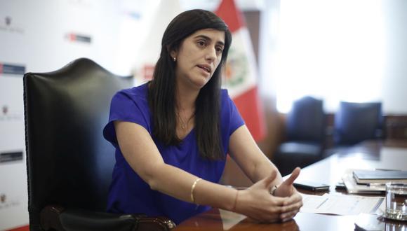 """María Antonieta Alva afirmó que el último padrón elaborado para el subsidio próximo a pagarse durante setiembre es """"casi universal"""". Foto: Mario Zapata / GEC"""