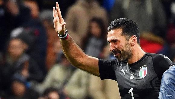 Gianluigi Buffon anuncia su retiro de Italia tras quedarse sin Mundial