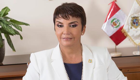 La doctora Elizabeth Canales Aybar se desempeñaba como vicerrectora académica de Pregrado de la universidad. Foto: UNMSM